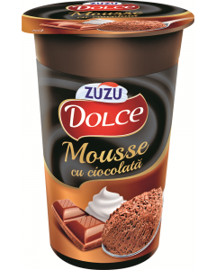Mousse cu ciocolata Zuzu Dolce 100g