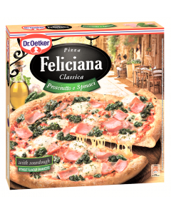 Pizza cu sunca si spanac Feliciana 350g