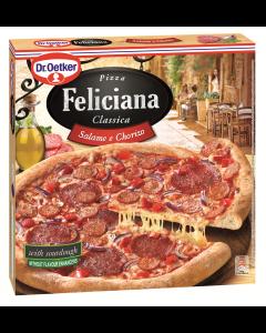 Pizza cu salam si carnati de porc Feliciana 320g