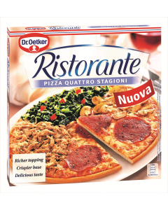 Pizza 4 anotimpuri Ristorante 370g