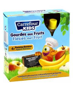 Piure banane 4x90g Carrefour Kids