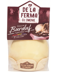 Branza burduf cu gust bland De la ferma cu omenie 350g