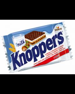 Napolitane cu crema de lapte si alune Knoppers 25g