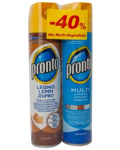 Pachet Spray Duo Pack Mix Pronto 300ml + 300ml