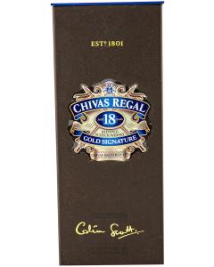 Chivas Regal Colin Scott Blended Scotch Whisky 18 years 0.7L