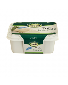 Tofu simplu in saramura Inedit 300g