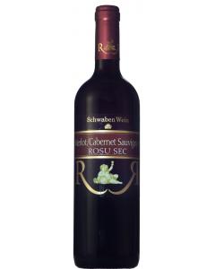 Vin rosu sec Recas 0.75L