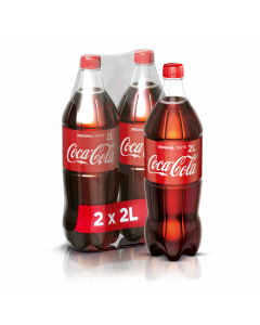 Coca-Cola Gust Original 2X2L PET