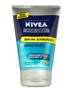 Gel de curatare Nivea for Men Q10 Skin Energy 100ml