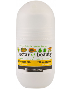 Deodorant roll-on Les Cosmetiques Nectar of Nature 24 ore - Parfum Papaia 50ml