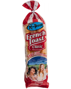 Paine alba, feliata French Toast 600g