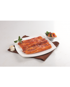 Piept de porc cu os marinat