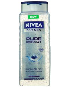 Gel de dus Nivea for Men Pure Impact 500ml