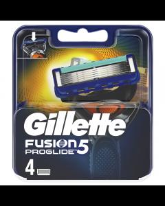 Rezerve pentru aparat de ras proglide Gillette Fusion 4 bucati
