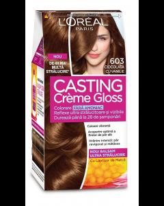 Vopsea de par L'Oreal Casting Creme Gloss 603 Ciocolata cu Vanilie