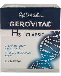 Crema de zi intens hidratanta Gerovital H3 Classic 50 ml