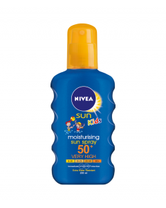 Lotiune spray colorata  SPF50 Nivea Sun Kids 200ml