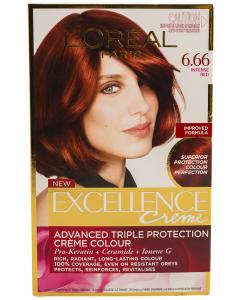 Vopsea de par L'Oreal Excellence 6.66 - Intense Red