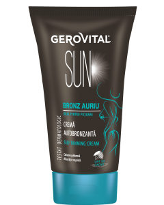 Crema autobronzare Gerovital Sun 150ml