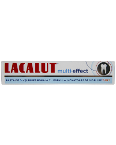 Pasta de dinti Lacalut Multi-Effect 75ml