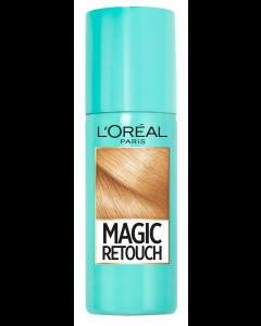 Spray instant pentru camuflarea radacinilor crescute intre colorari 8 Blond Deschis Auriu L'Oreal Paris Magic Retouch 75 ml