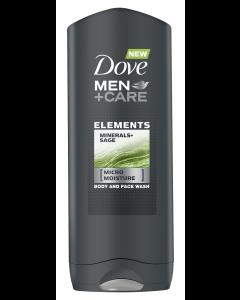 Gel de dus Minerals & Sage Dove Men+Care 400ml