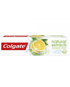 Pasta de dinti Colgate Natural Extracts Lemon 75ml