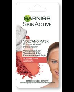 Masca de fata pentru reducerea porilor cu Roca Vulcanica Garnier 8ml