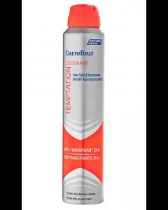 Deodorant antiperspirant Temptation Carrefour 200ml