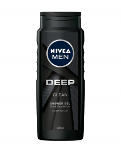 Gel de dus Deep Nivea Men 500ml