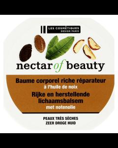 Lotiune pentru corp reparatoare cu ulei de nuci Les Cosmetiques 200ml