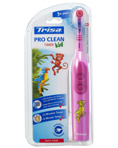 Periuta de dinti electrica pro clean timer kid Trisa
