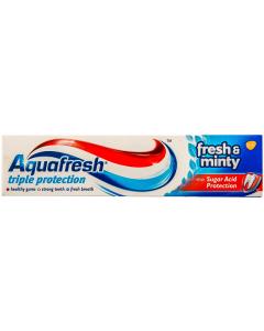 Pasta de dinti Aquafresh Triple Protection Fresh&Minty 50ml