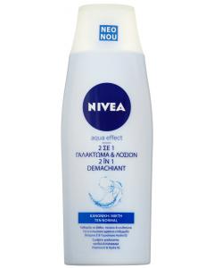Lapte demachiant & lotiune tonica Nivea Aqua Efect 200ml