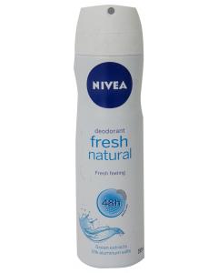 Antiperspirant spray fresh natural Nivea 150ml