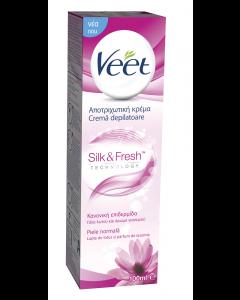 Crema depilatoare pentru piele normala cu lotus si iasomie Veet 1L
