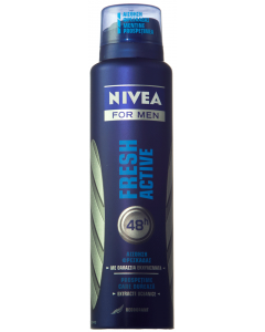 Deodorant antiperspirant spray Nivea Fresh Active 150ml