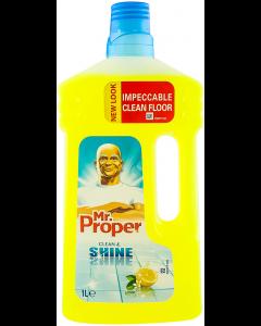 Detergent pardoseli Mr Proper lemon 1L