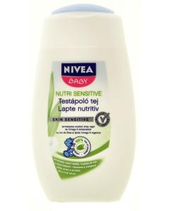 Lapte nutritiv pentru bebelusi 200ml Nivea Baby Nutri Sensitive
