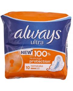 Absorbante Always Ultra Normal Plus 10buc