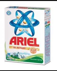 Detergent manual Ariel Mountain Spring 450g