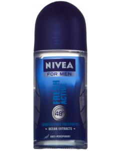 Deodorant antiperspirant roll on 50ml Nivea for Men Fresh Active
