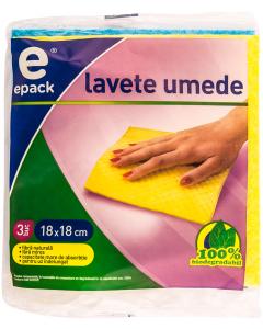 Lavete umede E Pack 3 buc