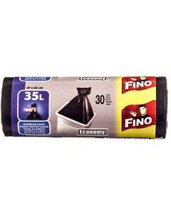 Pungi pentru gunoi Fino 35litri 49x60cm 30buc