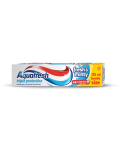 Pasta de dinti Aquafresh Triple Action Fresh & Minty 125ml