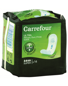 Absorbante Carrefour Ultra Super-Fine 14buc