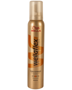 Spuma par curls& waves Wellaflex 200ml