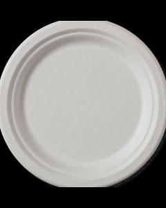 Set de 8 farfurii biodegradabile rotunde 17 cm