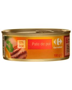 Pate de pui Carrefour 100g