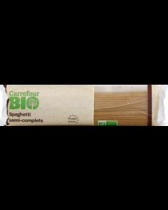 Spaghetti Semicomplete Carrefour Bio 500g